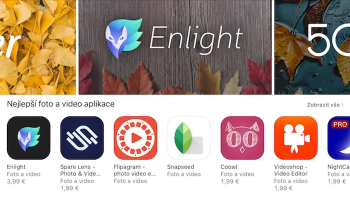 Fotky na AppStoru
