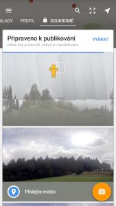 Zpracování 360° fotky